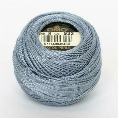 DMC116 Perle 12 Ball 0932 - Light Antique Blue