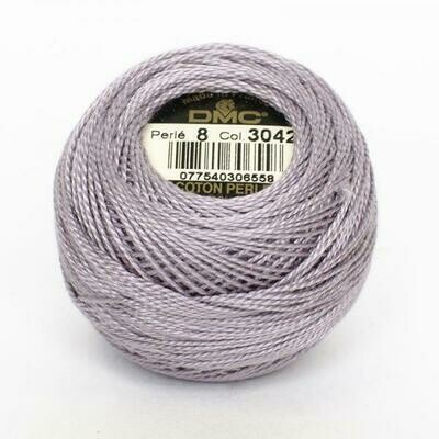 DMC116 Perle 12 Ball 3042 - Light Antique Violet