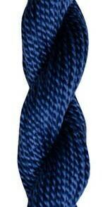 DMC115 Perle 03 Skein 0336 - Navy Blue