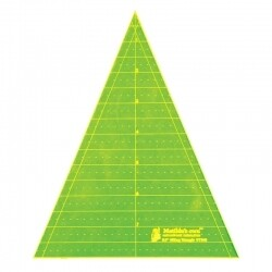 "Template Triangle 45deg - 8.0"" (VT845)"