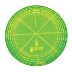 """Template Set Circle (5.5""""-8"""") 6pc - Lge (VC6)"""