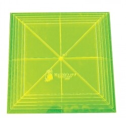 Template Set Square 6pc (3