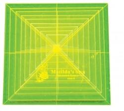 "Template Set Square (0.75""-2.75"") 9pc - Sml (VH018)"