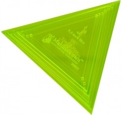 Template Set Triangle 60deg 6pc (3.25