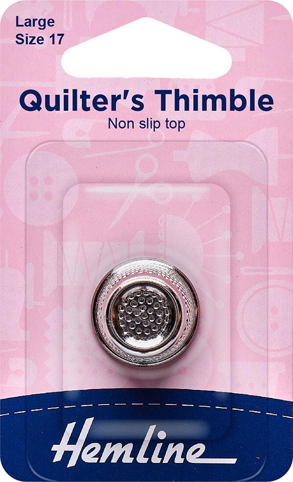 Hemline Quilter's Thimble Large 17mm (300.L)