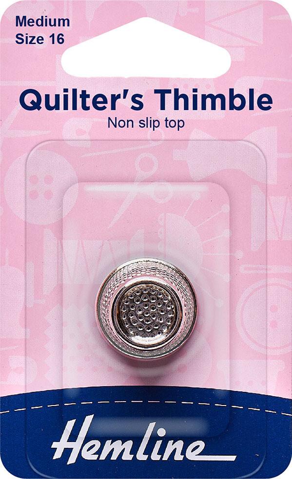 Hemline Quilter's Thimble Medium 16mm (300.M)