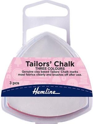 Hemline Tailors Chalk - White , Blue & Pink (250)