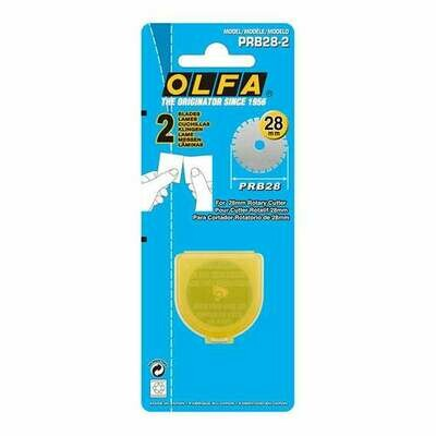 Olfa Rotary Blade 28mm Perforation 2pkt (OL4134)