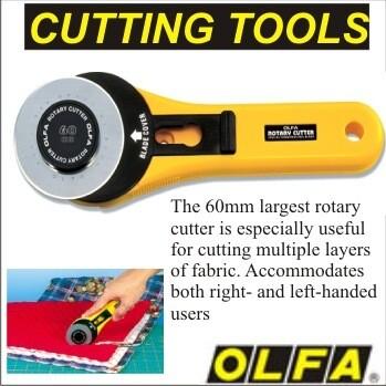OLFA Rotary Cutter 60mm RTY-3/G (OL4112)