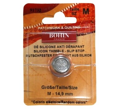 Bohin Thimble Silicone Medium Red (91732)