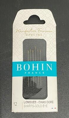 Bohin Sharps #12 G/E pkt (01129)