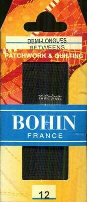 Bohin Betweens/Quilt #12 pkt (00324)