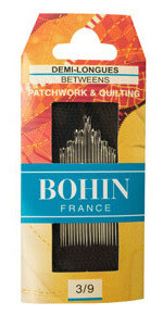 Bohin Betweens/Quilt #03/09 pkt (00368)