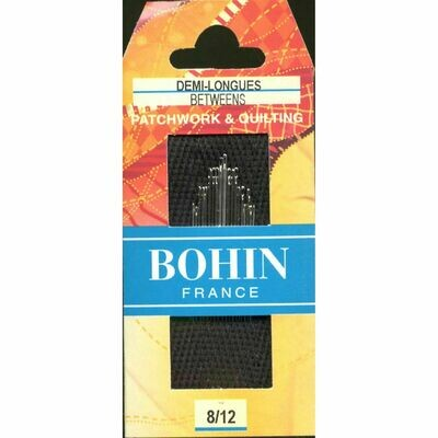 Bohin Betweens/Quilt #08/12 pkt (00369)