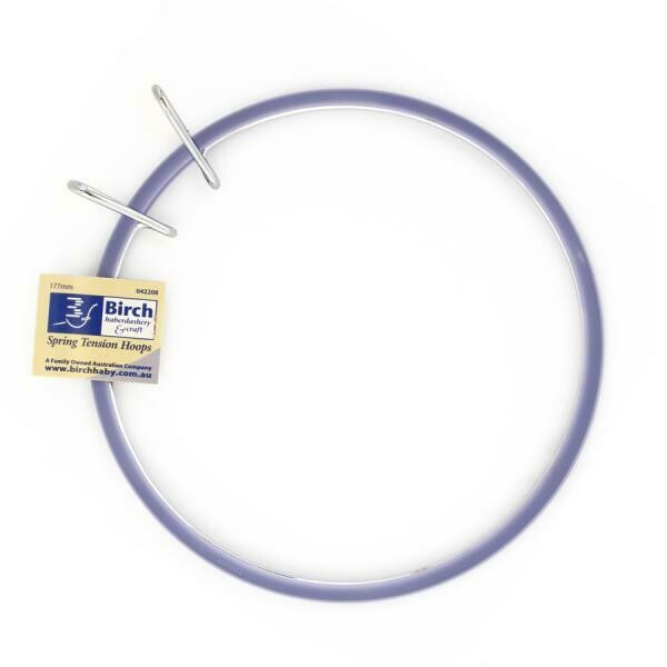 "Birch Spring Tension Embroidery Hoop 07""/177mm (042208)"