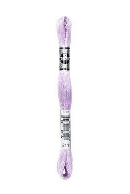 DMC107 Broder #25 Cotton 0211 - Light Lavender