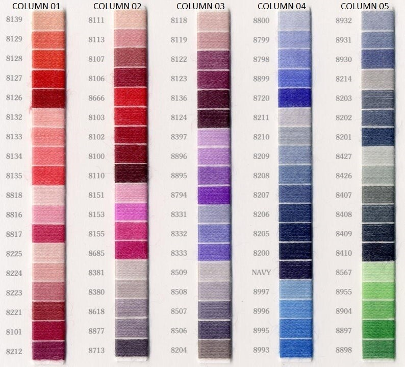 DMC Medici Crewel Wool #8800