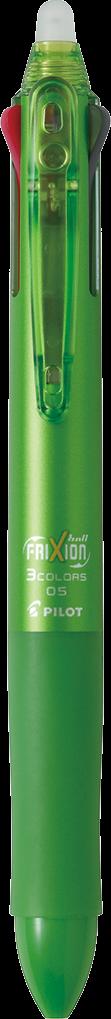 Pilot Frixion Ball 3 0.5 Pen (Lime Green case)