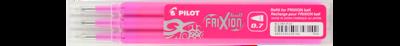Pilot Frixion 0.7 Pen Refills 3pkt - Pink