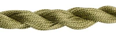 DMC115 Perle 03 Skein 3012 - Medium Khaki Green