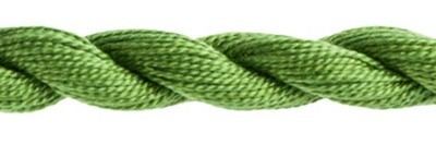 DMC115 Perle 03 Skein 3347 - Medium Yellow Green