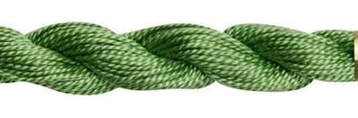 DMC115 Perle 03 Skein 0989 - Forest Green