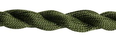 DMC115 Perle 03 Skein 3051 - Dark Green Grey