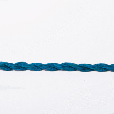 Colour Streams 100% Silken Strands Thread #038 - Ocean Blue