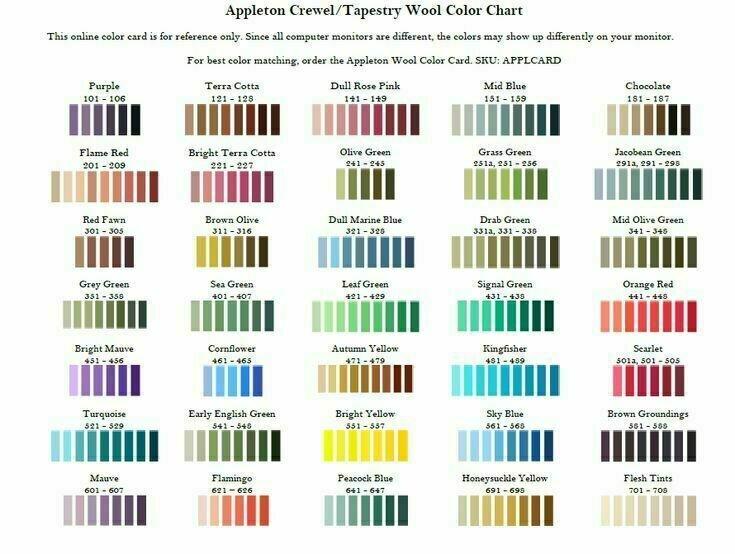 Appleton Crewel Wool #644
