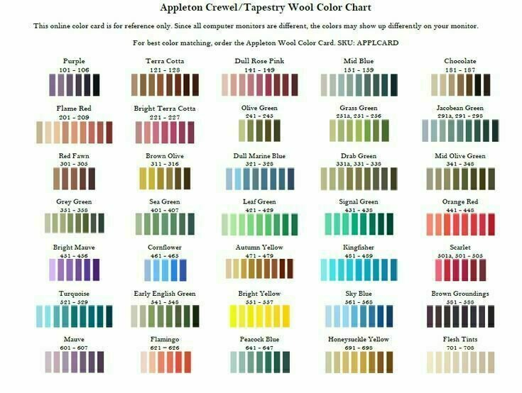 Appleton Crewel Wool #723
