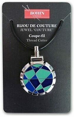 Bohin Thread Cutter Pendant - Jewel Design