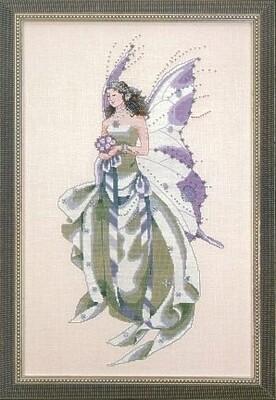 Mirabilia Designs - July's Amethyst Fairy (MD59)