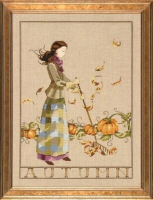 Mirabilia Designs - Autumn in My Garden (MD91)
