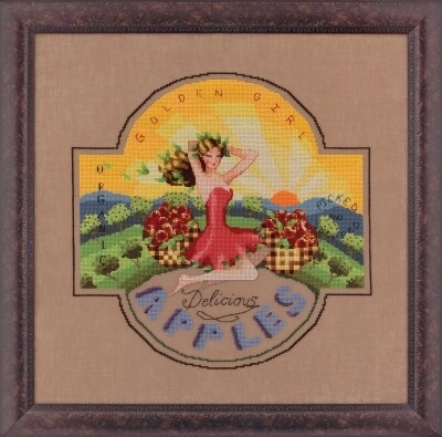 Mirabilia Designs - Golden Girl Apples (MD118)