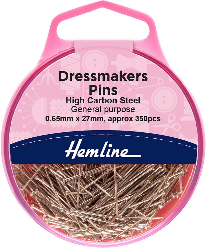 Hemline Dressmakers Pins 26mm x 0.67mm 25gm (700)