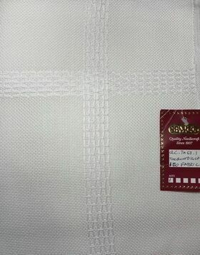 Semco Jacquard Fabric 14ct w.160cm Off White