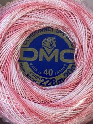 DMC Cordonnet #040 Cotton 0062V - Dusty Rose