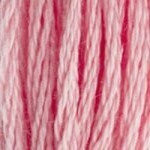 DMC Cordonnet #040 Cotton 3326 - Light Rose