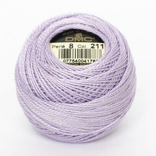 DMC Cordonnet #040 Cotton 0211 - Light Lavender