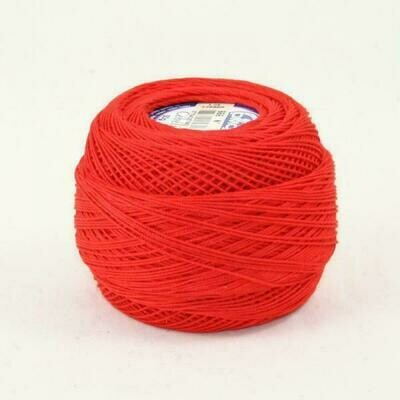 DMC Cebelia #040 Cotton 0666 - Bright Red