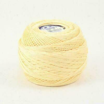 DMC Cebelia #030 Cotton 0745 - Light Pale Yellow