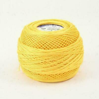 DMC Cebelia #030 Cotton 0743 - Medium Yellow
