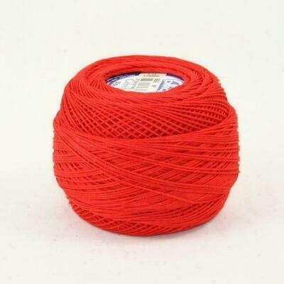 DMC Cebelia #030 Cotton 0666 - Bright Red