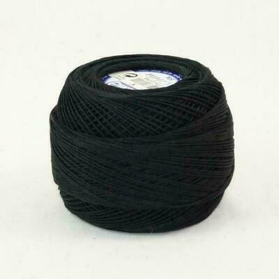 DMC Cebelia #030 Cotton 0310 - Black