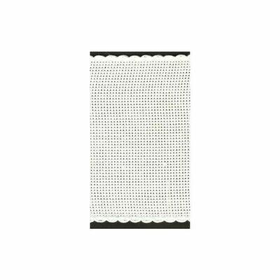 Aida Band 100mm White / White Trim (7195.1) /m