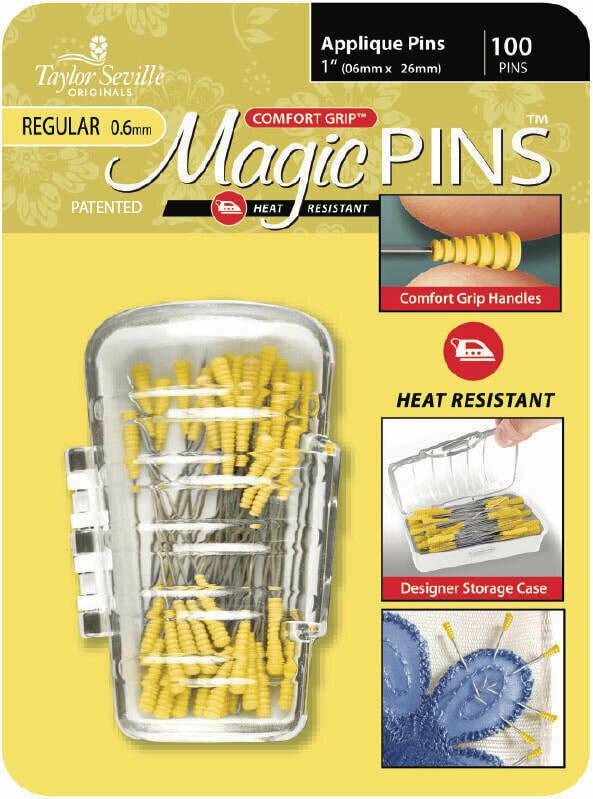 Taylor Seville Magic Pins Applique REGULAR 50pc