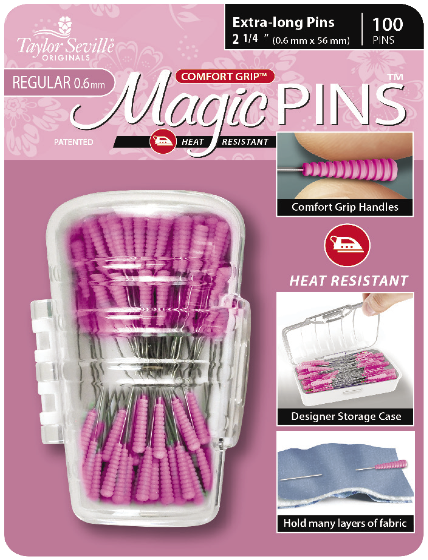 Taylor Seville Magic Pins Extra Long REGULAR 50pc