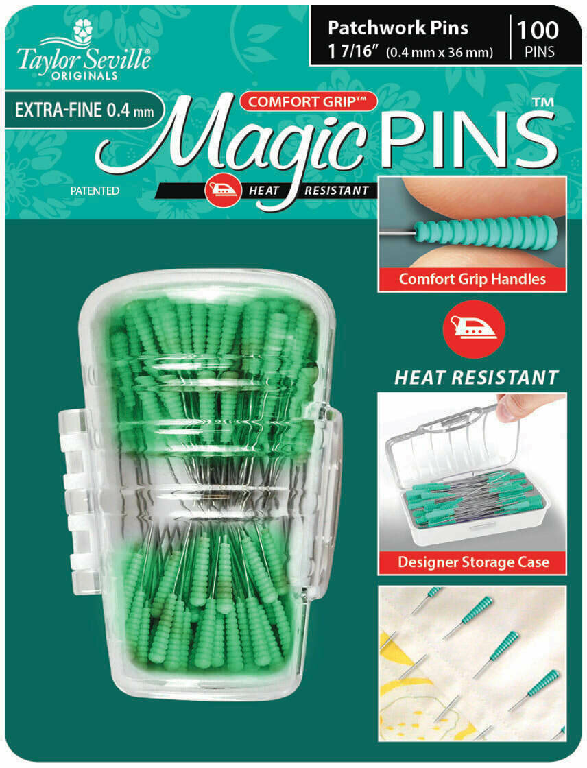 Taylor Seville Magic Pins Patchwork EXTRA FINE 50pc