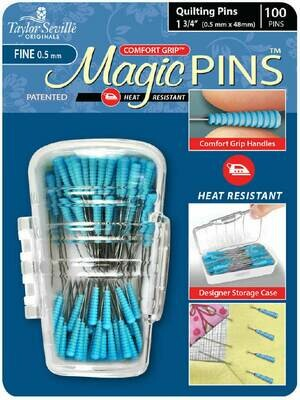 Taylor Seville Magic Pins Quilting FINE 50pc (216060)