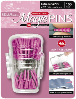 Taylor Seville Magic Pins Extra Long REGULAR 50pc
